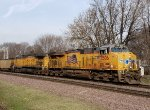 UP 7506 east with a coal train